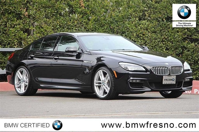 Certified Pre Owned 2016 Bmw 6 Series 650i Gran Coupe